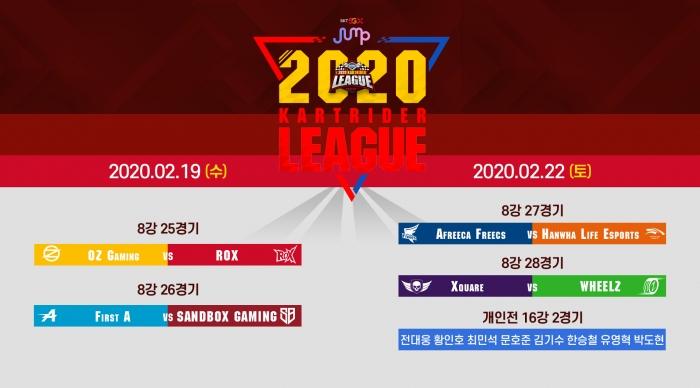 [SPOTV GAMES 보도자료] 2020 SKT JUMP 카트라이더 리그 시즌1 13,14회차 방송 안내 이미지 (20.02.18).jpg