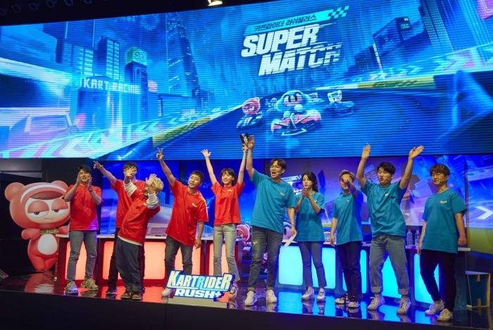 [사진2] '카트라이더 러쉬플러스 슈퍼 매치' 대회 모습.jpg