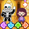 Undertale but FNF gameplay