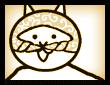 고양이 알몸 댄스